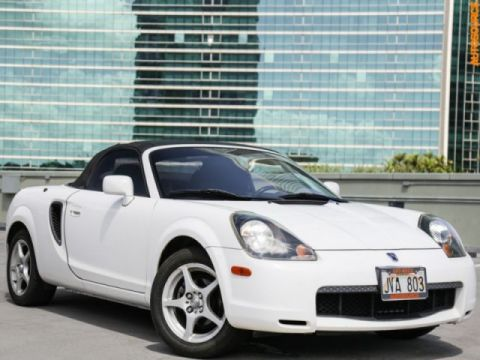 Pre-Owned 2002 Toyota MR2 Spyder